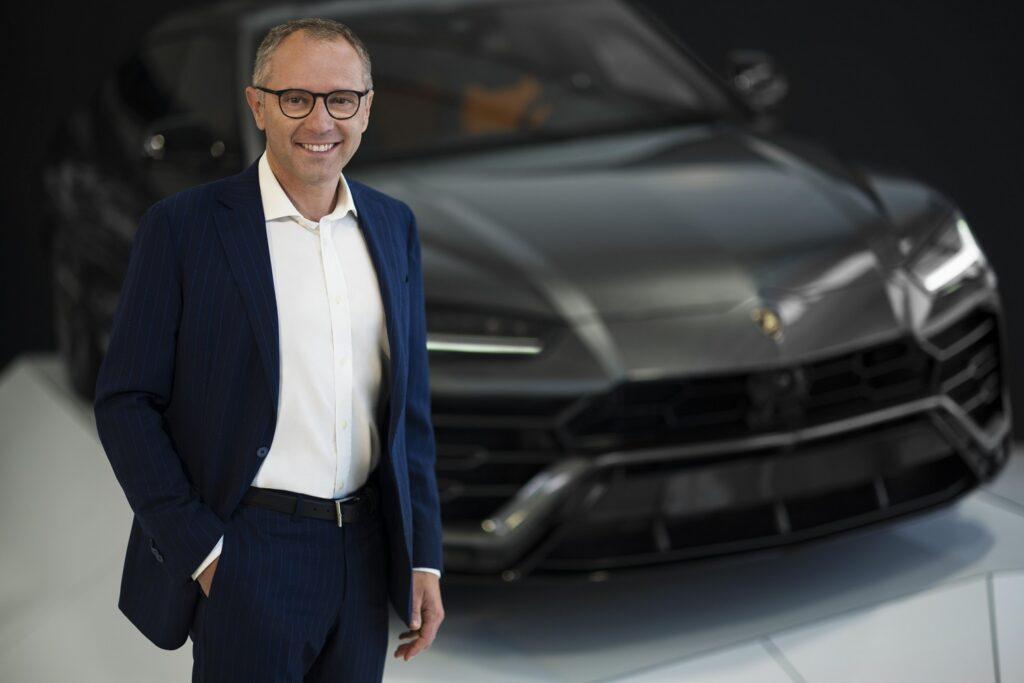 Stefano Domenicali, Chairman and CEO of Lamborghini