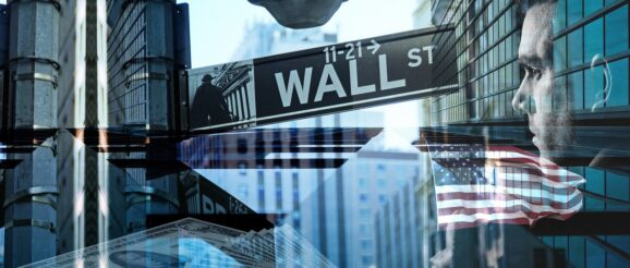 Wall Street and stock markets