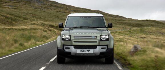 Land Rover Defender Hydrogen Fuel Cell EV