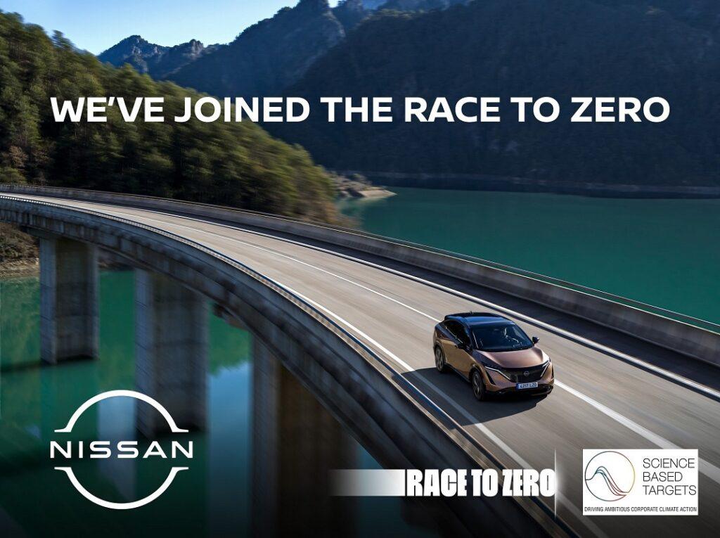 Nissan Race to Zero campaign
